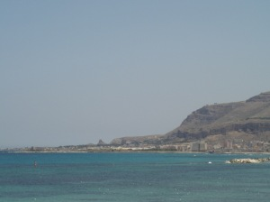 coastline of Trapani, Sicily, Italy